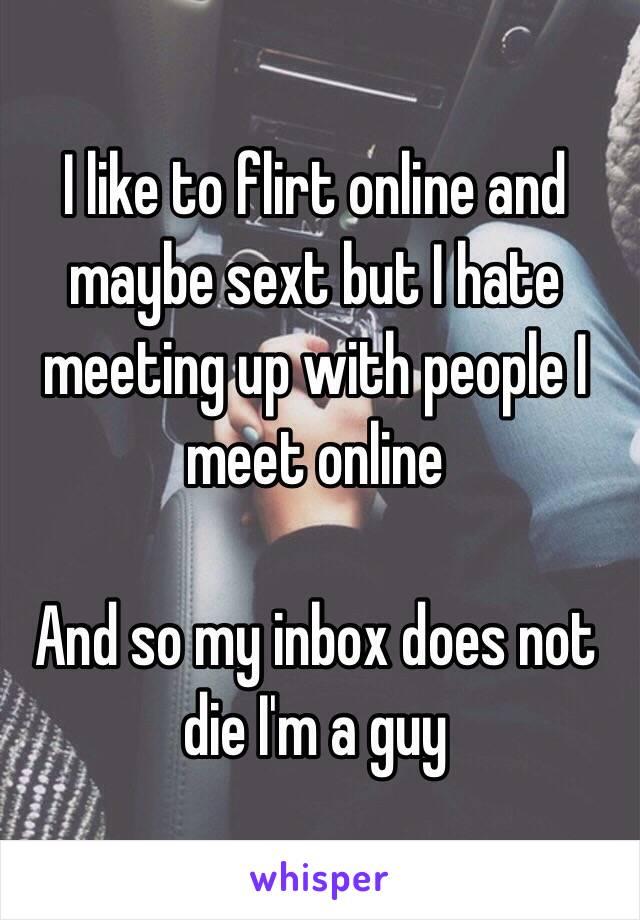 Meet and sext
