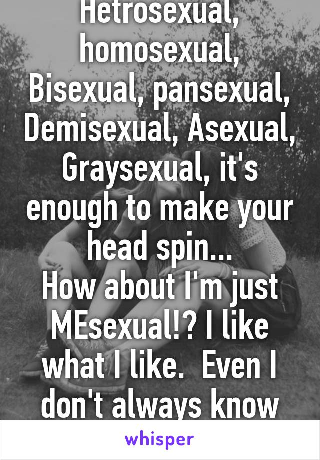 Graysexual vs demisexual