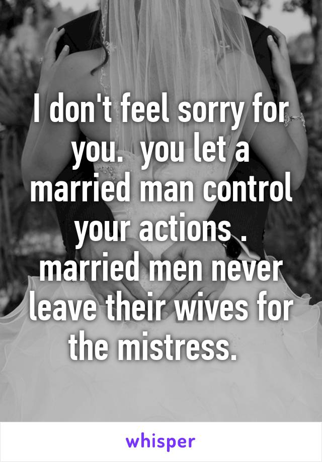 Do Married Men Ever Leave Their Wives