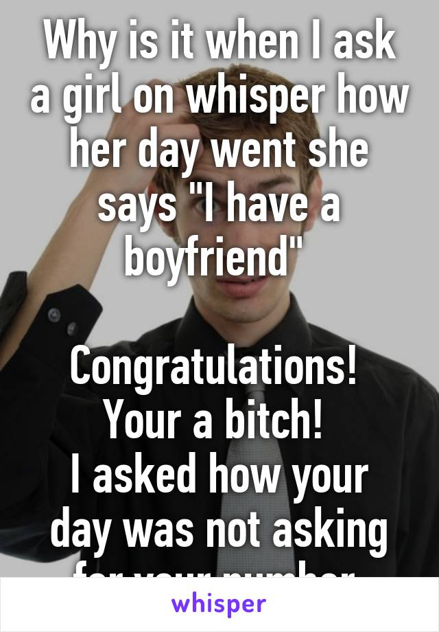 how to ask a girl how her day was
