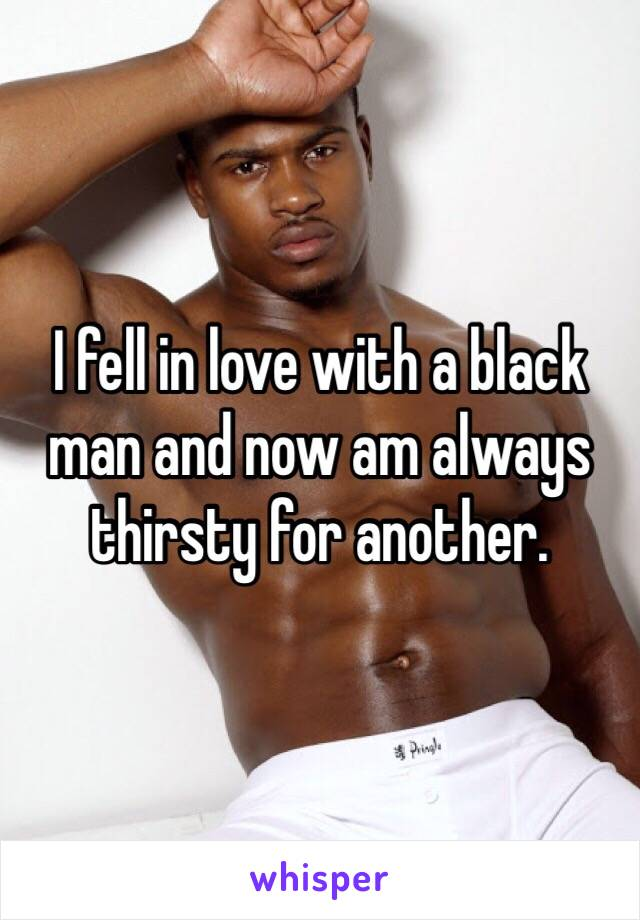 In love with a black man