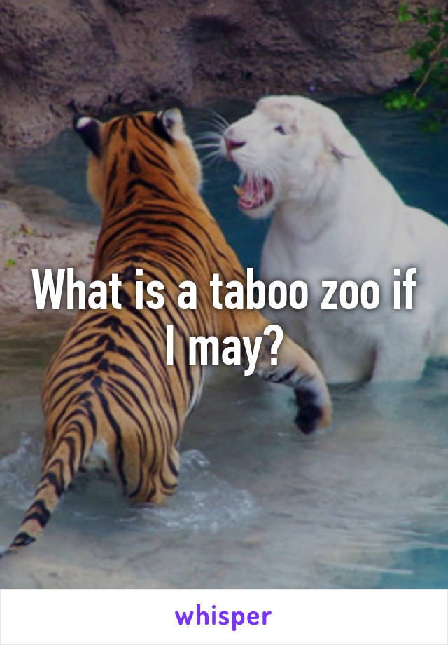 Zoo taboo Taboo Fuck