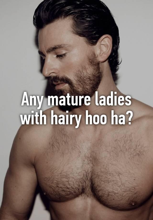 Hairy mature babes