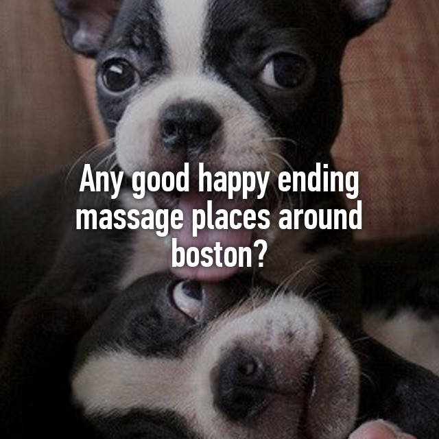 Massage with happy ending boston