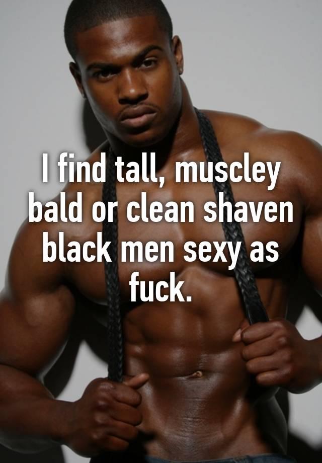 Tall sexy black men