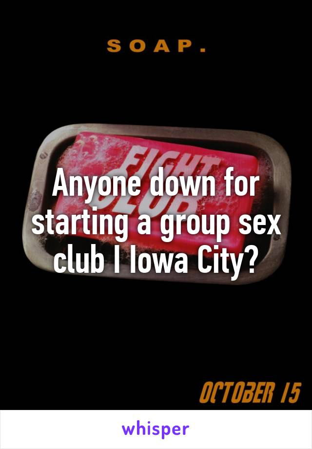 How to start a sex club