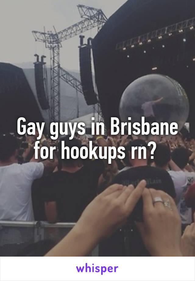 Gay hookup brisbane