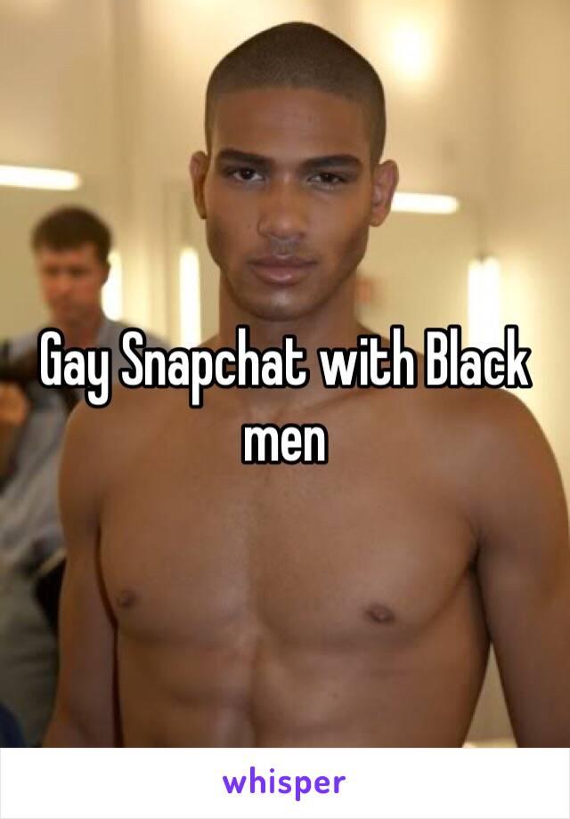 Local gay snapchat