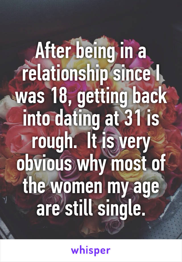 getting back into dating after long relationship