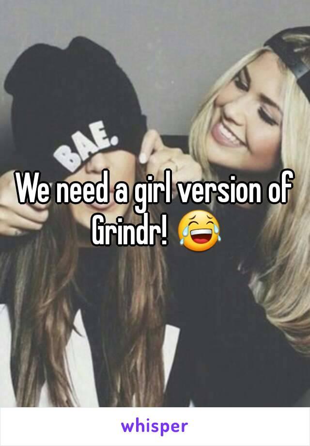 Girl version of grindr