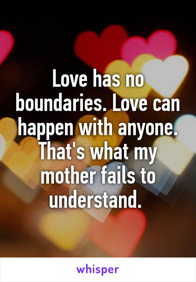boundaries in love