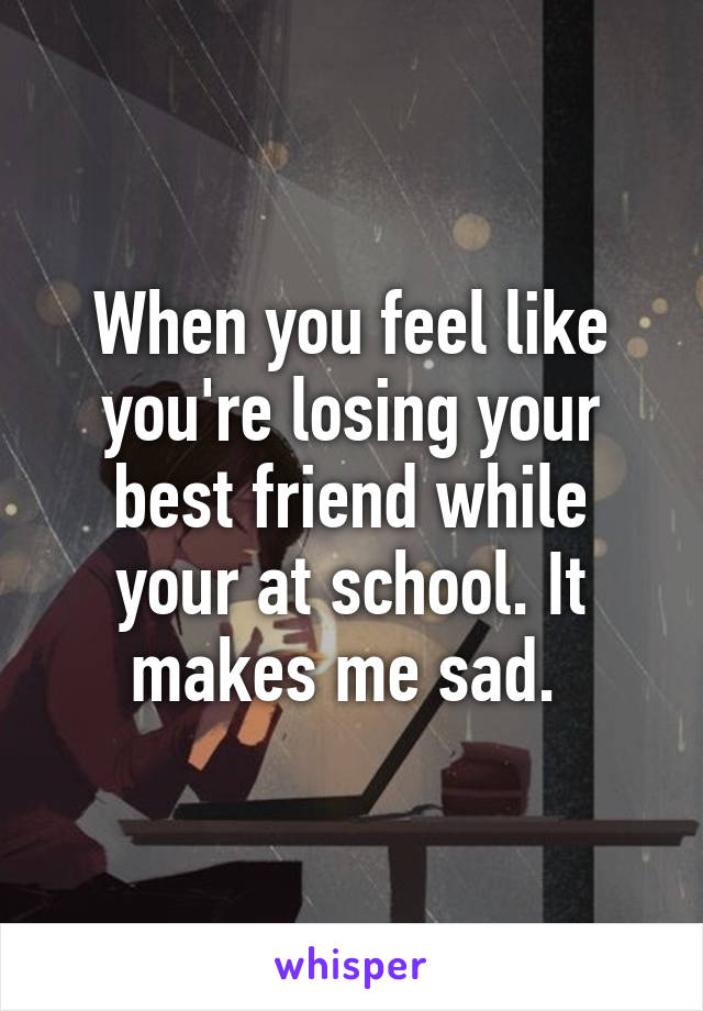 what to do when you lose your best friend