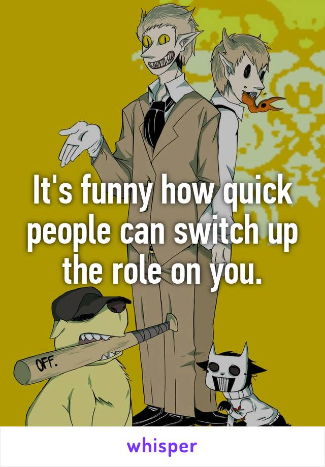 it s funny how quick people can switch up the role on you rh whisper sh animal switch games animal switcheroo