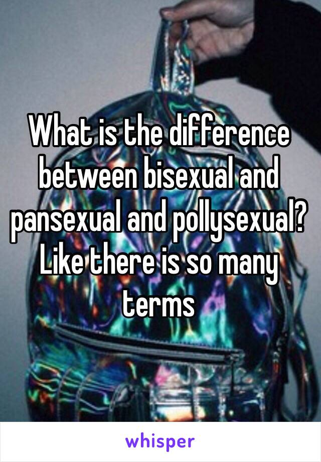 Pollysexual