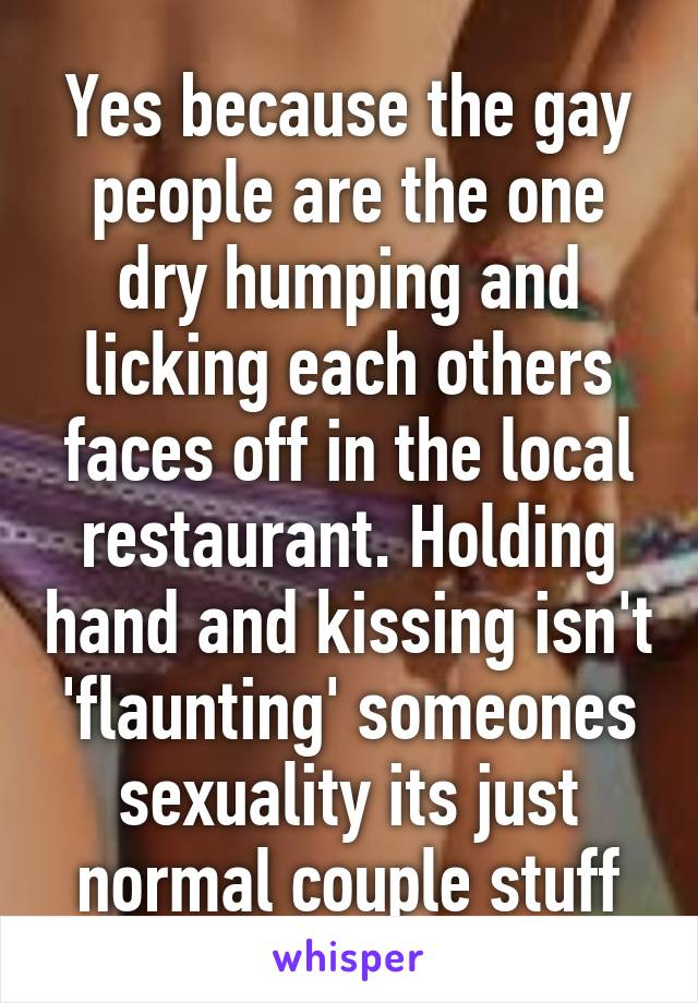 Is dry humping normal