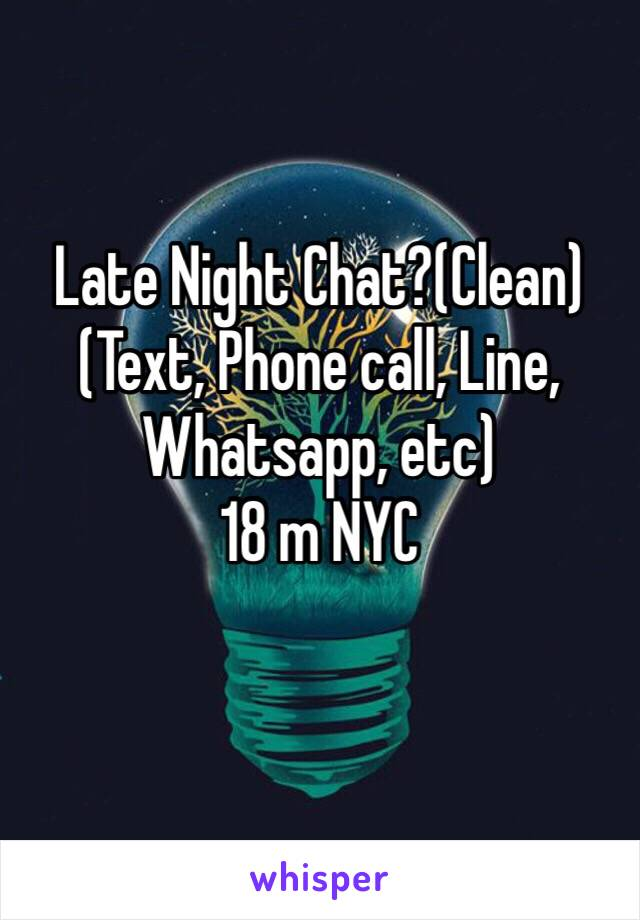 night chat