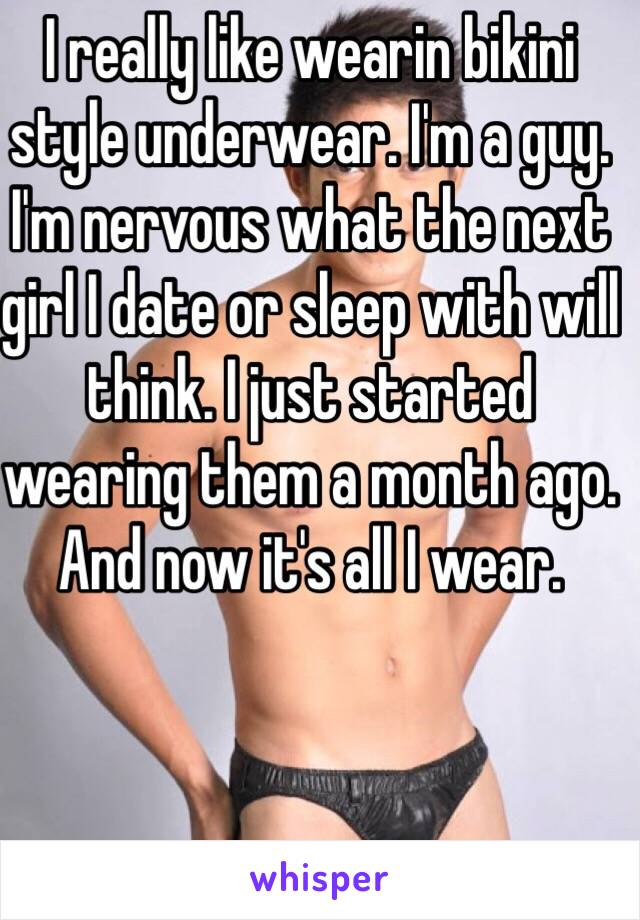 Girls bikini style underwear