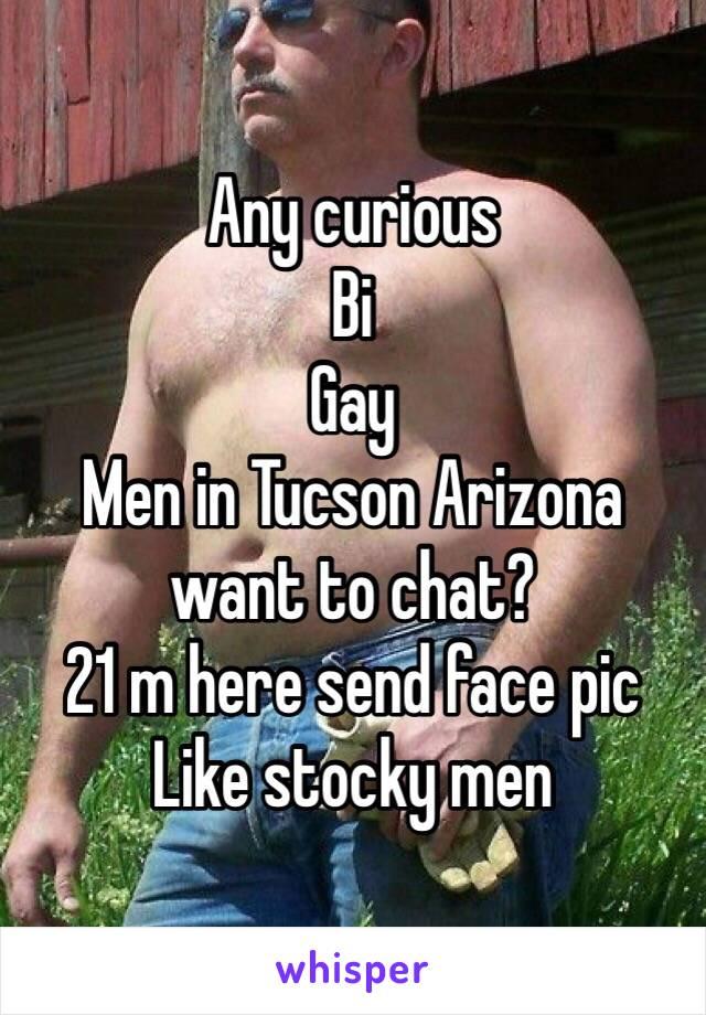 Stocky gay men