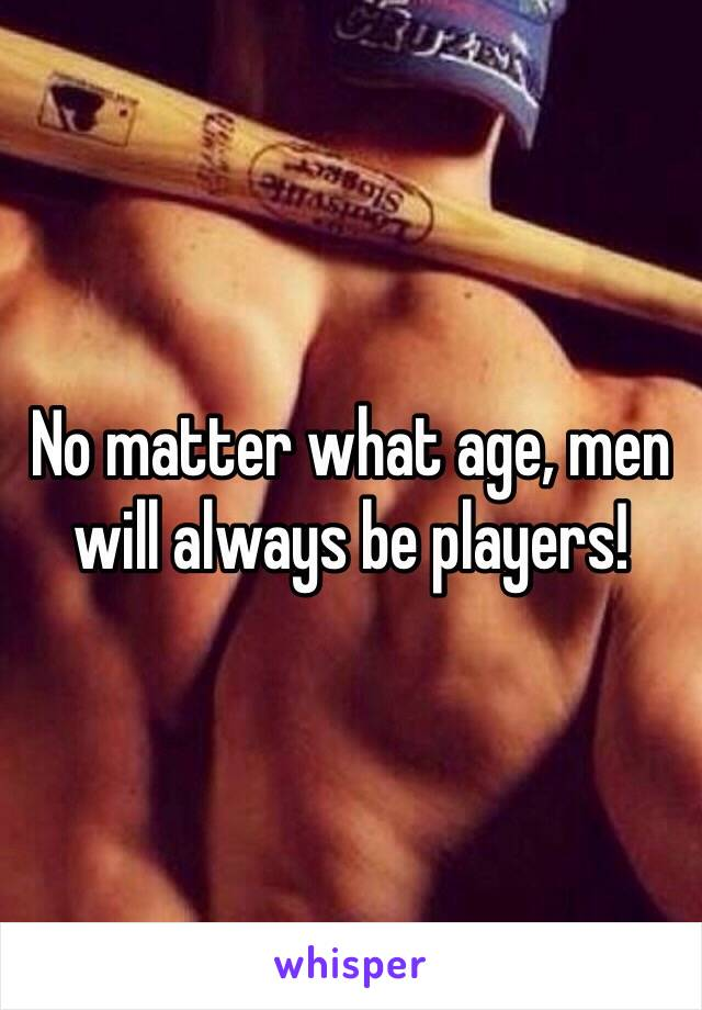 No matter what age, men will always be players!