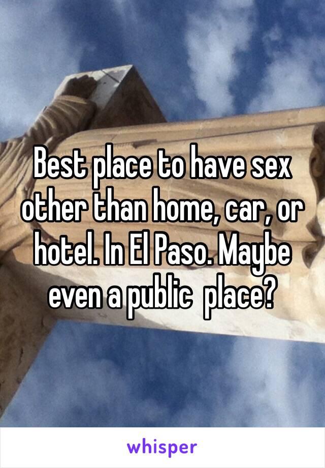 El paso homemade sex