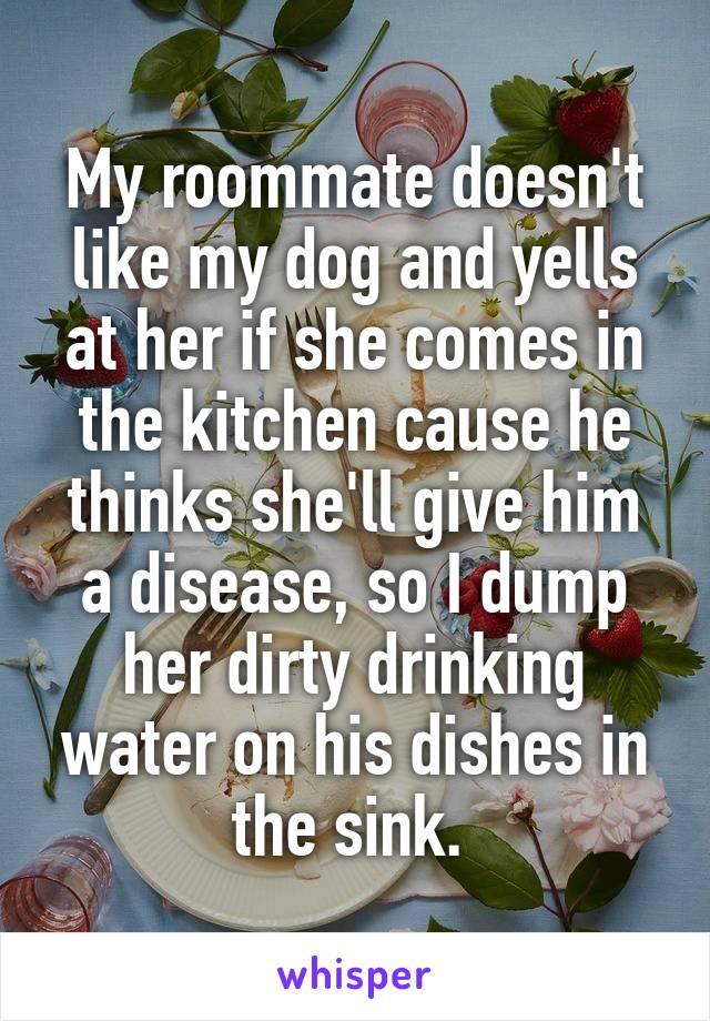 ex roommate revenge