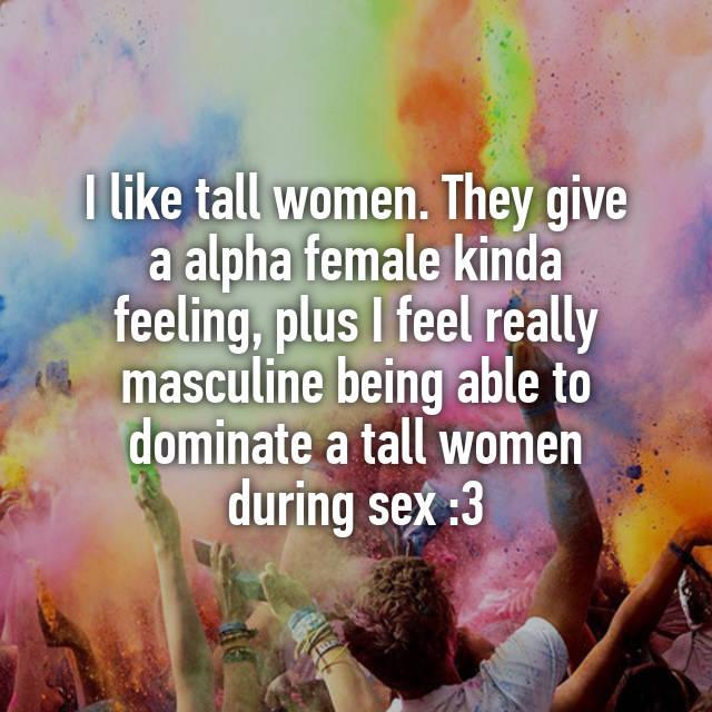 sex women Really tall