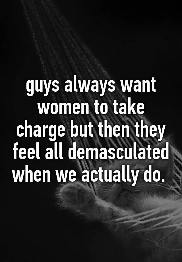 Demasculated