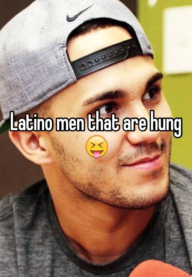 Hung latino men