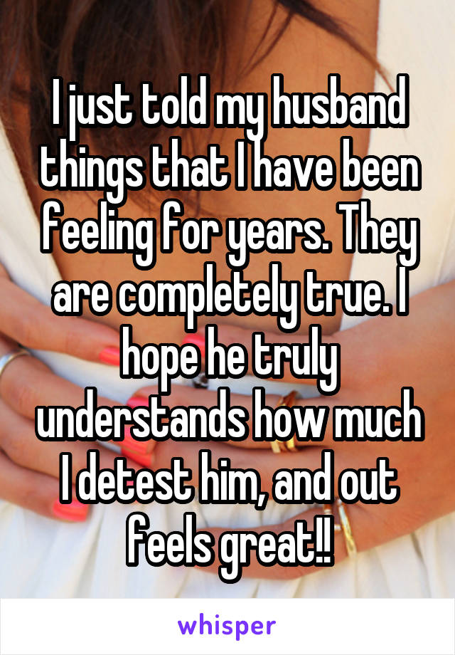 Wives Tell All: This Is Why I Hate My Husband So Much