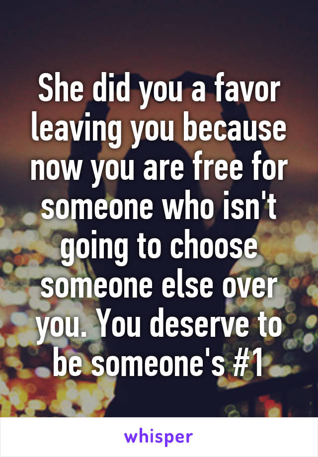 if someone did you a favor