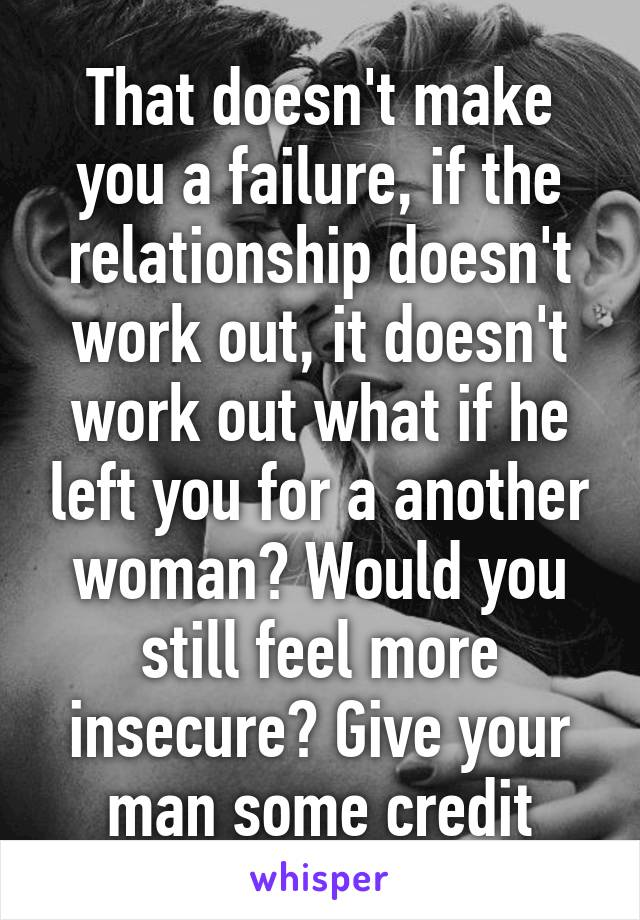 How to make a failing relationship work