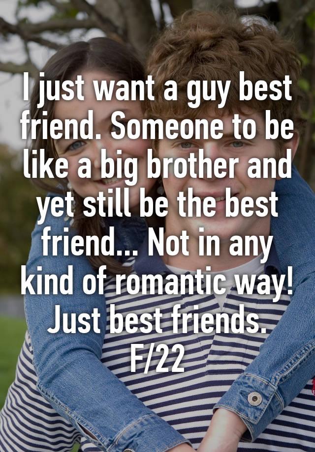 big brother best friend