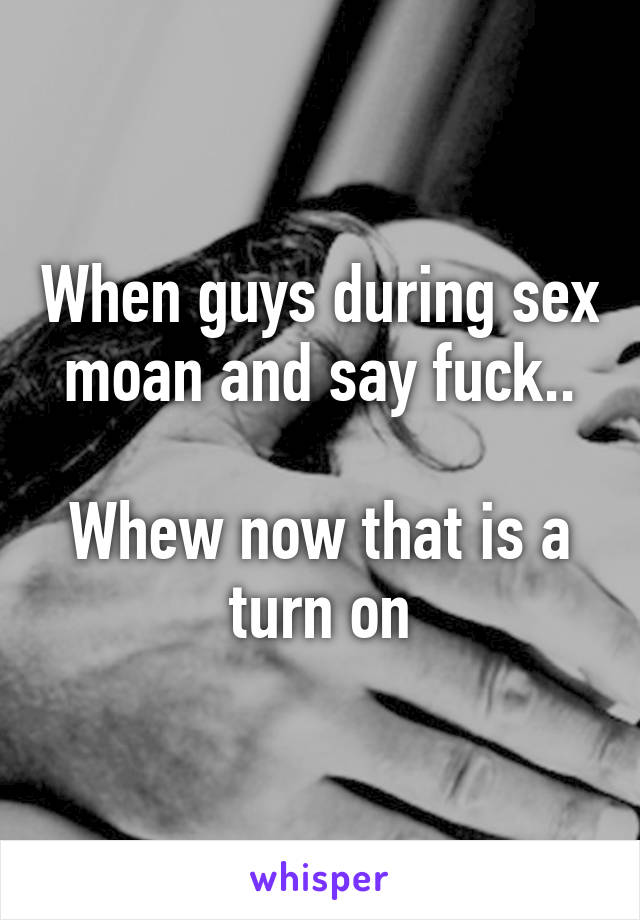 Things to say to him during sex