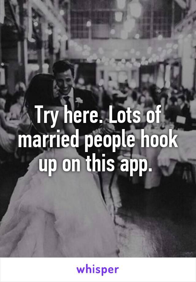 Married people hook up