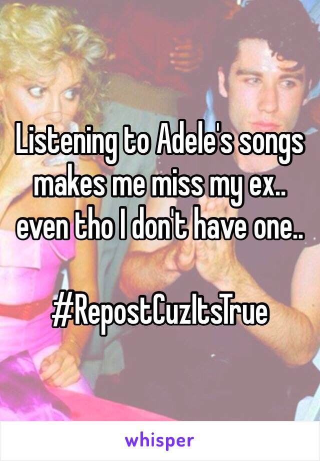 I miss my ex songs