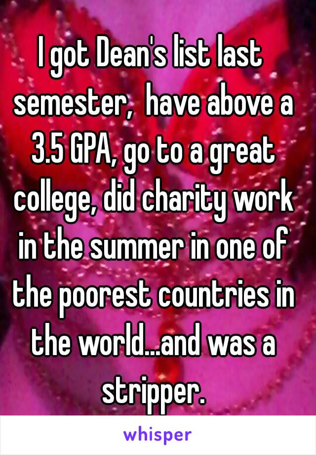 I Got Deans List Last Semester Have Above A GPA Go To A - Poorest nations in the world list