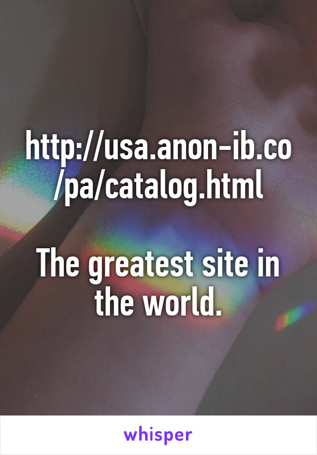 anonib pa catalog