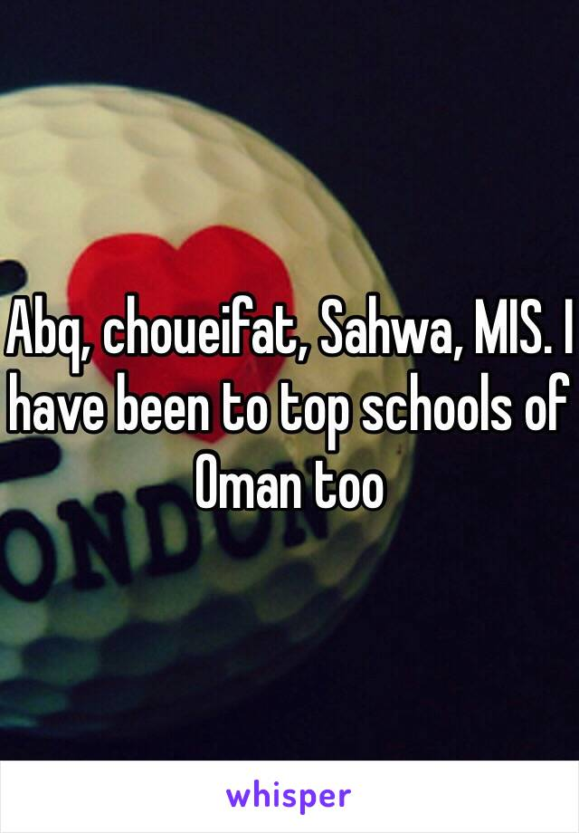 Who is in ISO taism Abq TSS Qps ass gps bsm kgis <#top schools of