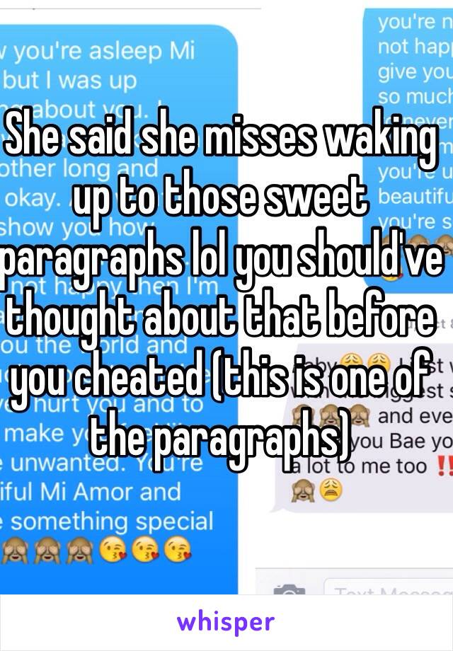 Boyfriend my to to wake up paragraph for Sweet Long