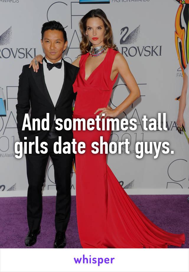 Dating tall girl akward