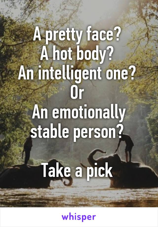 emotionally stable person