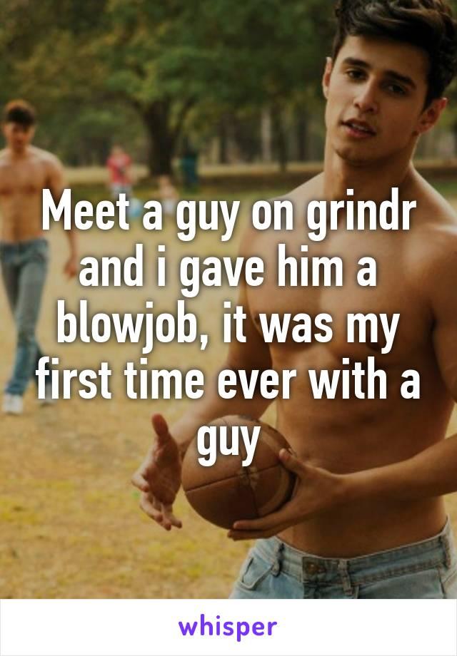 my first grindr meet