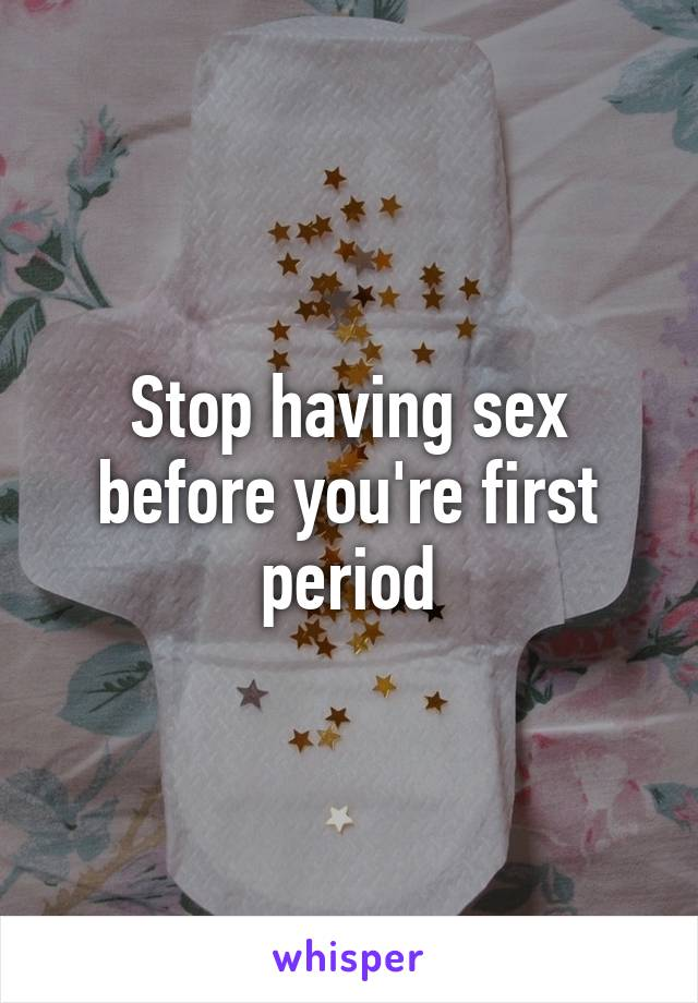 Having sex before your period pic 968