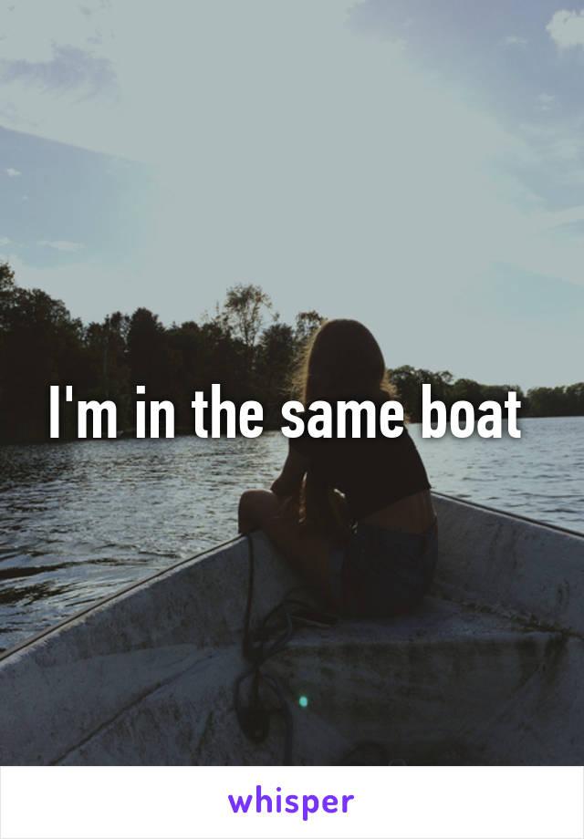I'm in the same boat