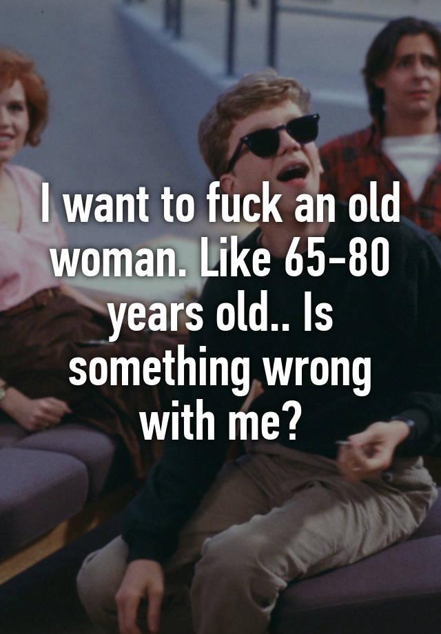 80 year old woman fucking