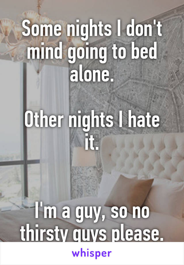 what guys hate in bed