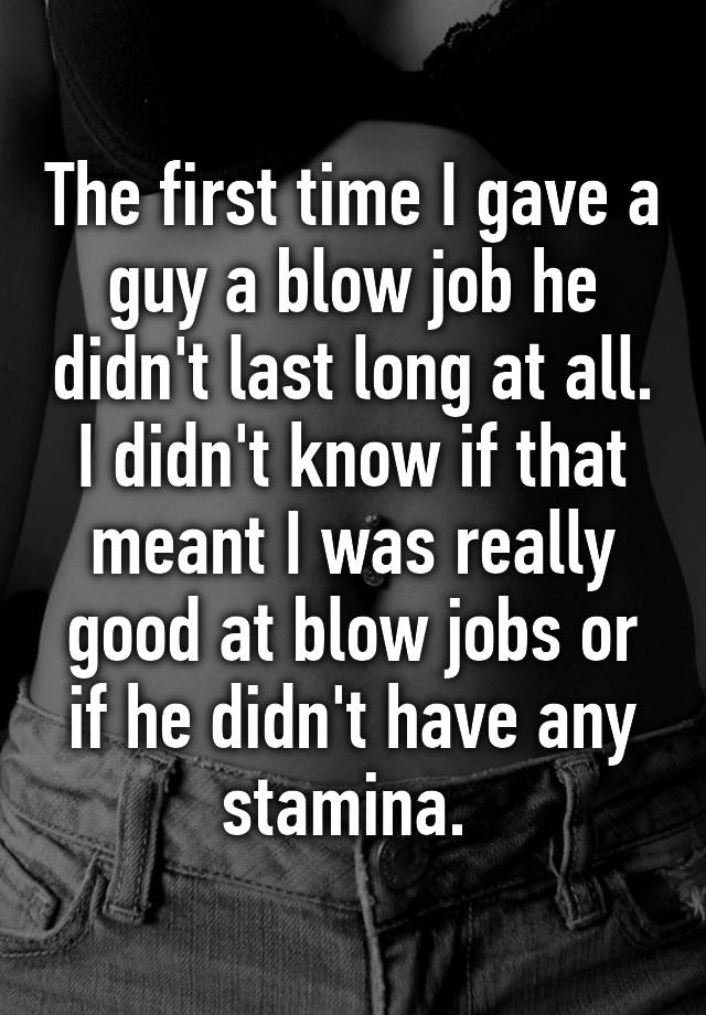 What is meant by blow job