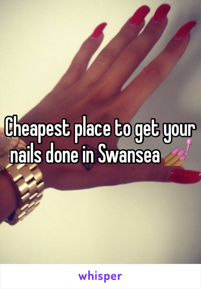 Cheapest place to get your nails done in Swansea 💅🏾