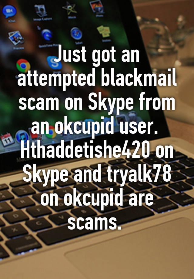 Okcupid scam