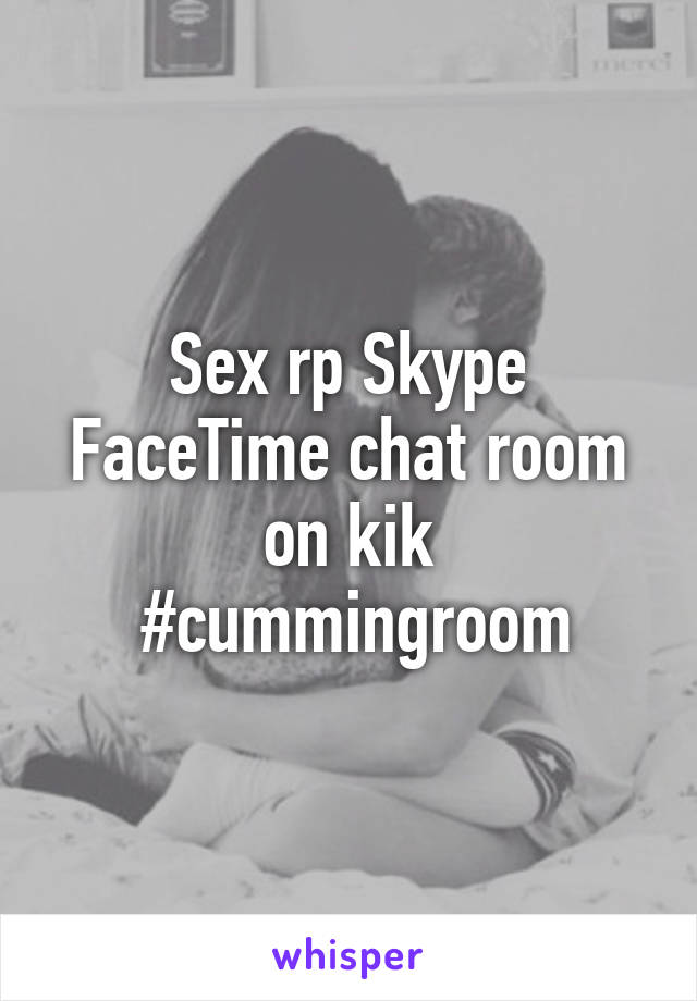 Facetime chat rooms